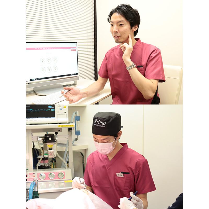 大岩宏維先生の診察・診療画像